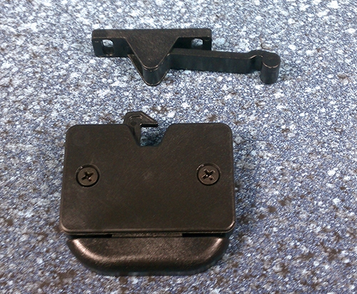 Icerette Handle Latch Assembly
